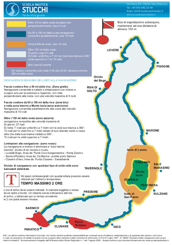 Scuola Nautica Stucchi - Regole di Navigazione Lago d'Iseo